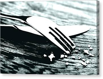 Knife And Fork Canvas Print by Blink Images