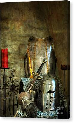 Knight - A Warriors Tribute  Canvas Print by Paul Ward