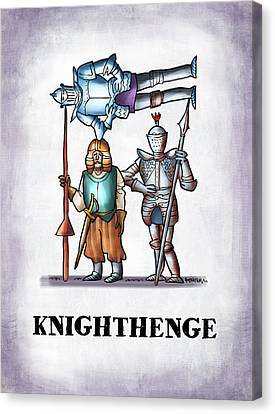 Knighthenge Canvas Print by Mark Armstrong