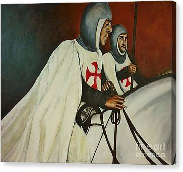 Knights Of Tomar Canvas Print