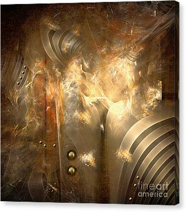 Knighty Armor Canvas Print
