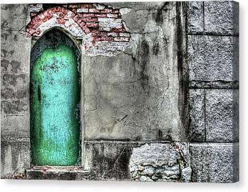 Knock Knock Canvas Print by JC Findley