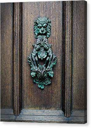 Knocker Canvas Print by Bud Simpson