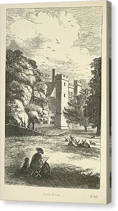 Knole House Canvas Print by British Library