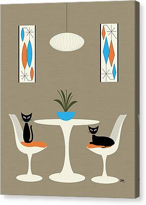Knoll Table Canvas Print