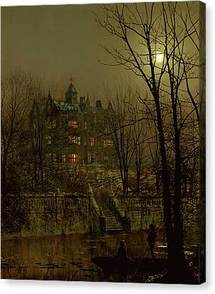 Knostrop Old Hall, Leeds, 1883 Canvas Print