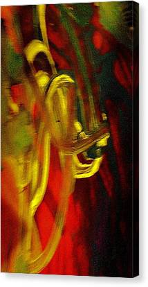 Knotted Silence Canvas Print by Paula Andrea Pyle