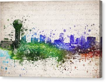 Knoxville In Color Canvas Print