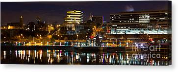 Knoxville Waterfront Canvas Print