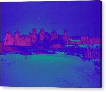 Knuutila Infrared Canvas Print by Jouko Lehto