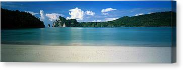 Ko Phi Phi Islands Phuket Thailand Canvas Print by Panoramic Images