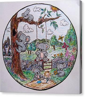 Koala Canvas Print - Koala World by Megan Walsh