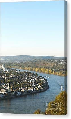 Koblenz Canvas Print by Design Windmill