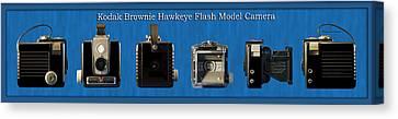 Kodak Brownie Hawkeye Camera Canvas Print by Thomas Woolworth