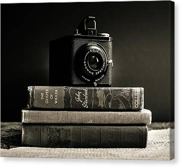 Kodak Brownie Special Six-16 Canvas Print by Jon Woodhams