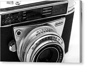 Kodak Retina Camera Canvas Print by John Rizzuto