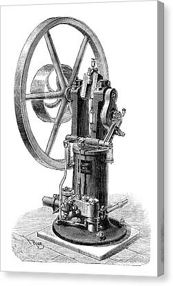 Koerting-lieckfield Engine Canvas Print by Science Photo Library