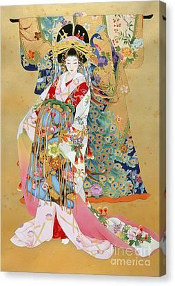 Kogane Canvas Print by Haruyo Morita