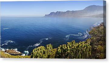Kogelberg Area View Over Ocean Canvas Print by Johan Swanepoel