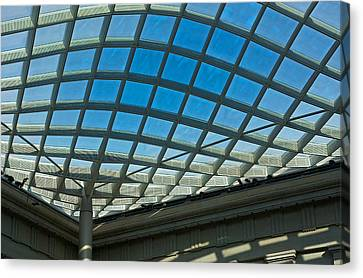Kogod Courtyard Ceiling #3 Canvas Print