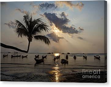 Koh Tao Sunset Canvas Print