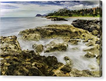 Kohola Lagoon Canvas Print