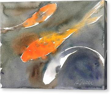 Koi Fish No.1 Canvas Print