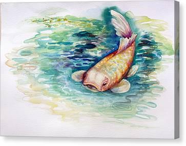 Koi I Canvas Print