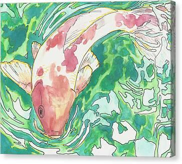 Koi Joy Canvas Print