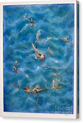 Koi Ripple Canvas Print