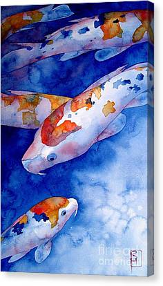 Koi Canvas Print by Robert Hooper