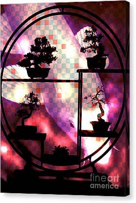 Koi Screen Canvas Print by Robert Ball