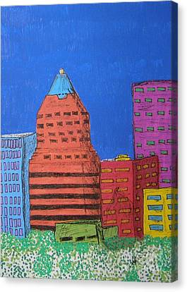 Koin Downtown Canvas Print