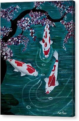 Kois Canvas Print by Kat Poon