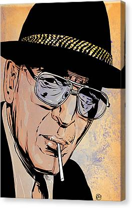 Kojak Canvas Print by Giuseppe Cristiano