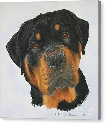 Kolo Canvas Print by Joanne Simpson