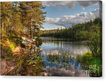 Koppom Sweden Canvas Print by Caroline Pirskanen