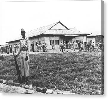 Korean Armistice Building Canvas Print