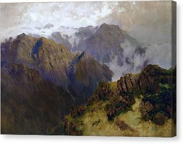 Kosciusko Canvas Print by William Charles Piguenit