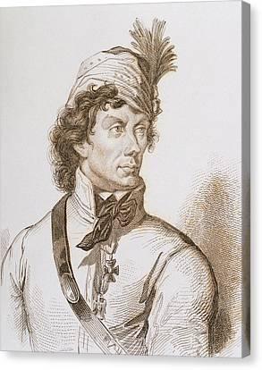 Kosciuszko, Tadeusz (1746-1817 Canvas Print by Prisma Archivo