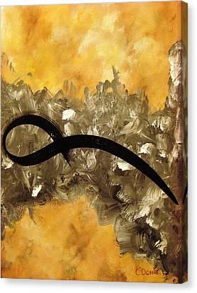 Kotegaeshi Canvas Print by Stephen P ODonnell Sr