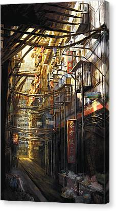 Kowloon Canvas Print by Anthony Christou
