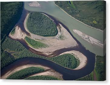 Koyukuk River Canvas Print by Roger Clifford