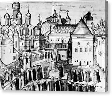 Kremlin, 17th Century Canvas Print by Granger