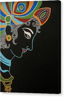Krishna II Canvas Print