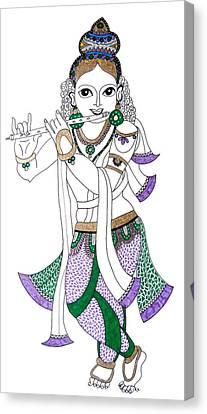 Krishna IIi Canvas Print