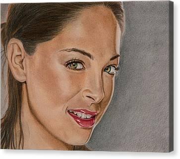 Kristen Kruek Lana Lang Canvas Print