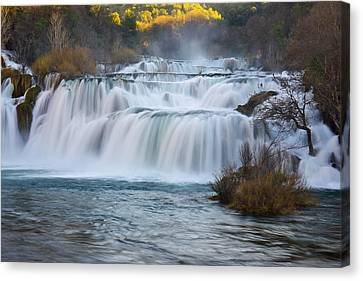 Krka Waterfalls Canvas Print