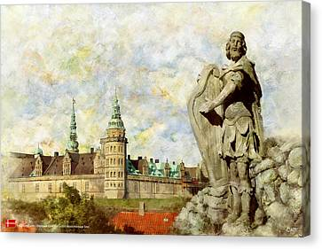 Kronborg Castle Canvas Print by Catf