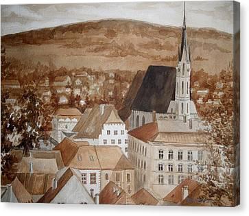 Krumlov Canvas Print